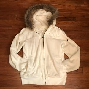Adorable and cozy zip up jacket!